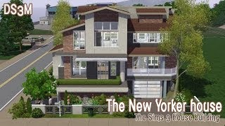 getlinkyoutube.com-The Sims 3 House Building - The New Yorker House | Speed Build