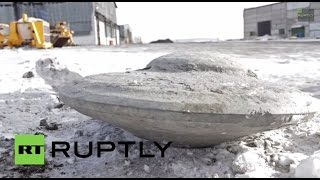 getlinkyoutube.com-Russia: Proof UFOs exist? FLYING SAUCER discovered... UNDERGROUND!