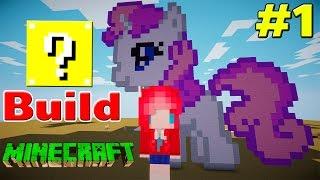 getlinkyoutube.com-Minecraft : Lucky Build # 1 เปิดลักกี้บล็อคมาสร้างม้ายูนิคอน