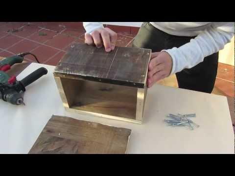 Tutorial: nido para agapornis