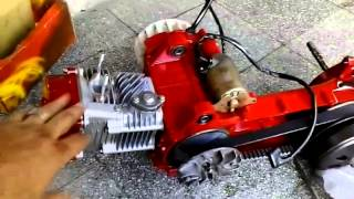 getlinkyoutube.com-Gy6 racing scooter motor