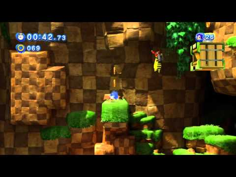 Sonic Generations (360) - Green Hill: Act 1 Playthrough (S-Rank) -42KZoSqWN3g