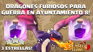 getlinkyoutube.com-3 Estrellas 100% con Dragones y Furias en Guerras de Clanes contra Aldeas N8