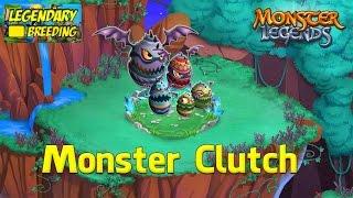 getlinkyoutube.com-Monster Legends - How To Get Monster Clutch (Legendary) + Combat