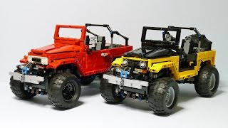 getlinkyoutube.com-LEGO Technic FJ40 Crawler with SBrick