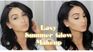 getlinkyoutube.com-Easy Summer Glow Makeup Tutorial
