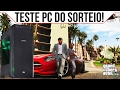PC DO SORTEIO! TESTE NO GTA 5 ‹ ChipArt ›