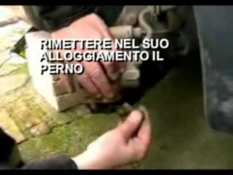 Cambio pastiglie freni Fiat 600