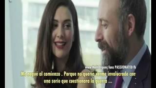 getlinkyoutube.com-Halit Ergenc & Berguzar Korel ....in Cannes Español subtítulos