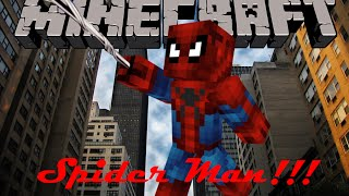 getlinkyoutube.com-Minecraft Mod Showcase: Superheroes Unlimited! Part 7, SPIDERMAN