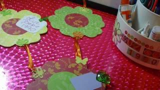 "getlinkyoutube.com-PORTARETRATO COLGANTE+notitas""ORIGINAL""decorasion para cuartos RECICLADO"