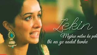 Romantic whatsapp status video 👍pyar💏mazak👯nahi🙅hota sad status Shraddha Kapoor width=