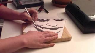 getlinkyoutube.com-Airbrush stencil howto