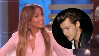 getlinkyoutube.com-Jennifer Lopez Wants to Date Harry Styles? Gets GRILLED About Drake Relationship on Ellen