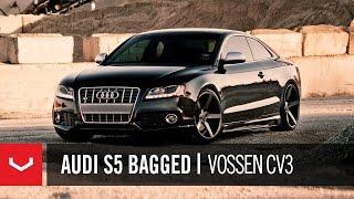 "getlinkyoutube.com-Audi S5 Bagged on 20"" Vossen VVS-CV3 Concave Wheels / Rims"