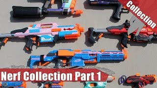 Nerf Arsenal Part 1 | Painted Blasters Collection