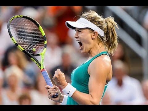 2016 Coupe Rogers Second Round | Genie Bouchard vs Dominika Cibulkova | WTA Highlights