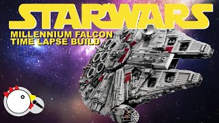 getlinkyoutube.com-LEGO 10179 - UCS StarWars Millennium Falcon - Time Lapse Build with Stop Motion Finale