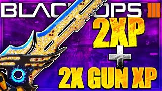 getlinkyoutube.com-DOUBLE XP + DOUBLE WEAPON XP in Black Ops 3! LEVEL UP EVERYTHING SUPER FAST BO3!