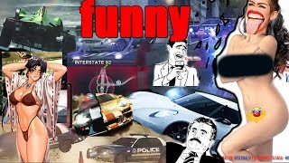 XXX Adult Video Gaming Funny  Police Most Wanted Moment 2012 Compilation -