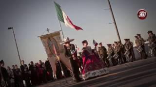 El Tradicional abrazo de los Dos Laredos