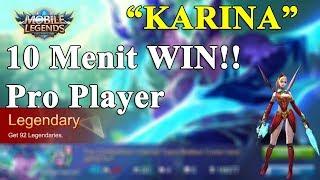 Build Item TERBAIK Karina # dan Cara memainkan Karina # LEGENDARY # Mobile Legend Indonesia