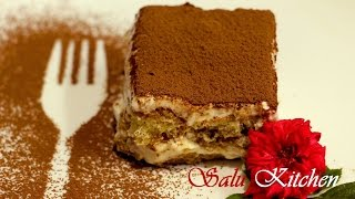 getlinkyoutube.com-Tiramisu Cake / Without Baking / Easy Recipe