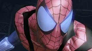 getlinkyoutube.com-Spider-Man: Edge of Time - BEN REILLY Spider Suit 2099 Review