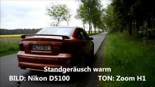 getlinkyoutube.com-Opel Vectra i500 - Sound Bastuck
