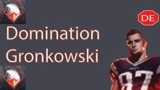 Madden Mobile 16 Domination Rob Gronkowski; Domination Gronk Master Set Completion!