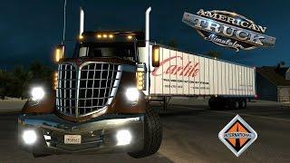 getlinkyoutube.com-American Truck Simulator   Alaska Caminos Extremos   International LoneStar