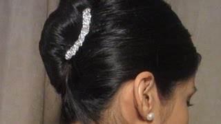 getlinkyoutube.com-Easy French Twist Hairstyle