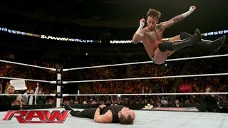 CM Punk vs. Dean Ambrose: Raw 09-12-2013