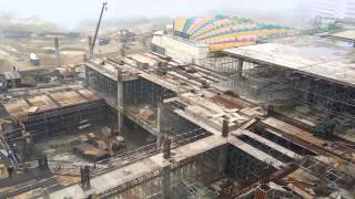 getlinkyoutube.com-View of 20th Century Fox World Theme Park construction site @ Genting Highlands (7 May 2015) UHD 4K