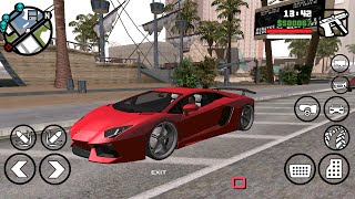 GTA San Andreas Cars Mod By iVIC675 (Android)[Review 2]