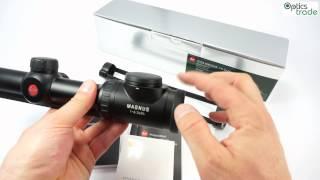 getlinkyoutube.com-Leica Magnus 1-6.3x24 Rifle Scope Review