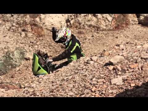 Kawasaki KLX 450 rally Dakar 2014