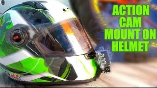 getlinkyoutube.com-BEST WAY TO MOUNT ACTION CAMERA ON HELMET//SJCAM//SJ5000 WIFI//LS2 HELMET