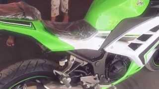 getlinkyoutube.com-Kawasaki ninja 300 2016
