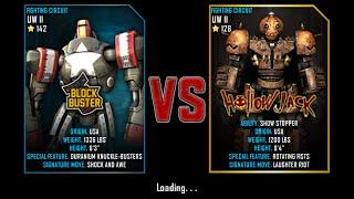 getlinkyoutube.com-Real Steel WRB Championship Block Buster VS HolloW Jack NEW UPDATE