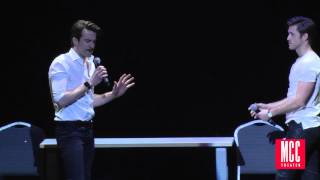 "getlinkyoutube.com-Aaron Tveit and Gavin Creel Sing ""Take Me or Leave Me"" from RENT at MCC Theater MISCAST Benefit"