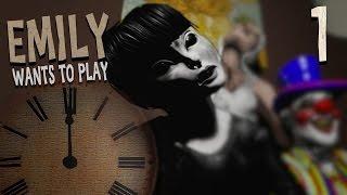 getlinkyoutube.com-[공포게임]  에밀리는 놀고싶어 #1   (Emily Wants To Play)