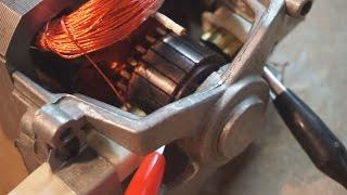getlinkyoutube.com-Universal vacuum motor generator effects...