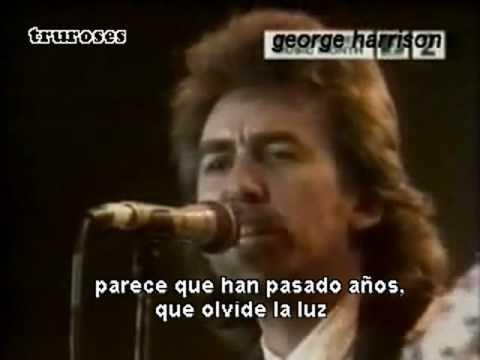 George Harrison y sus amigos - Here Comes the Sun (traducido)