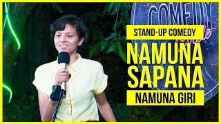 Namuna Sapana | Stand-up Comedy ft. Namuna Giri