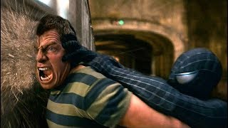 Spider Man Vs Sandman   Subway Fight Scene   Spider Man 3 (2007) Movie CLIP HD