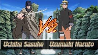 getlinkyoutube.com-Mugen Battles | Sasuke The Last vs Naruto The Last