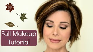 getlinkyoutube.com-Trendy Fall Makeup Tutorial With A Classic Spin