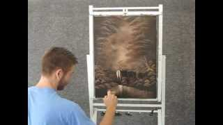 getlinkyoutube.com-Paint with Kevin Hill - Waterfall Unedited