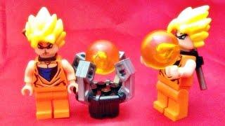 getlinkyoutube.com-lele 드래곤볼 Z 손오공과 일성구 레고 짝퉁 미니피규어 lego knockoff Dragonball Z sonkoku